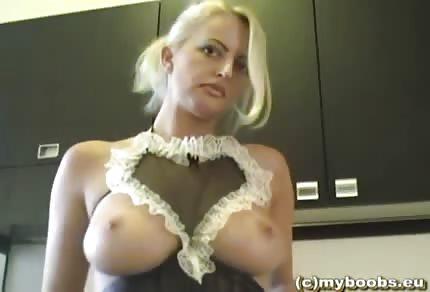 Polaca con lencería sexy