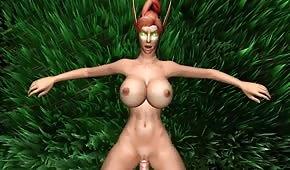 Animación pornográfica del mundo de WOW 4. parte