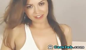 Piękna laska na seks kamerce